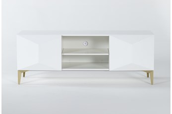 Aria White 60 Inch Tv Stand
