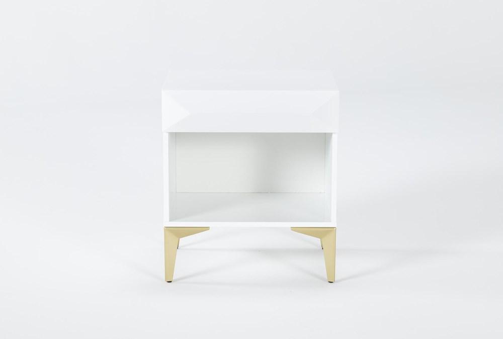 Aria White File Cabinet