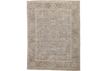 120X168 Rug-Faded Traditional Grey