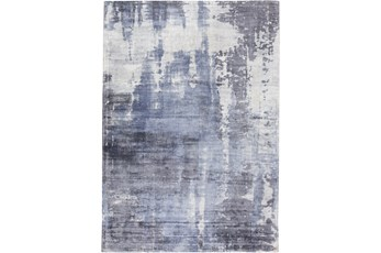 60X96 Rug-Contempory Luxe Sheen Blue