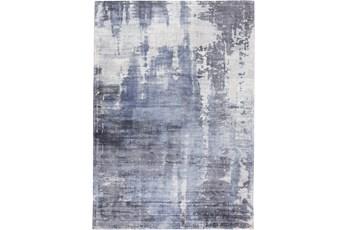 96X120 Rug-Contempory Luxe Sheen Blue