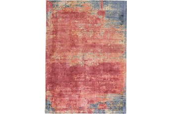 96X120 Rug-Contemporary Luxe Sheen Sunset