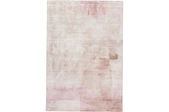 60X96 Rug-Contemporary Luxe Sheen Blush