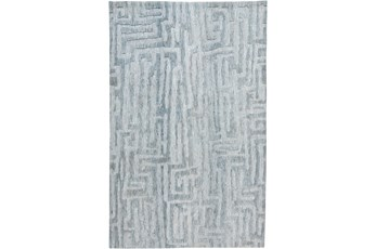 114X162 Rug-Micro Fiber Tribal Abstract Mist