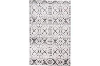 60X96 Rug-Benton Grey/Ivory