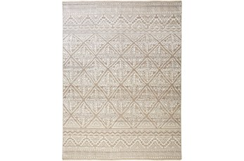 102X138 Rug-Hand Knotted Woolbeige/Grey