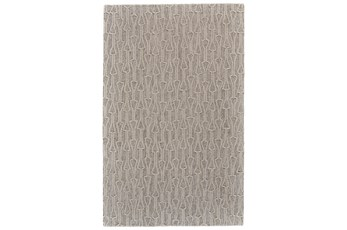60X96 Rug-Tribal Arrows Ivory/Natural