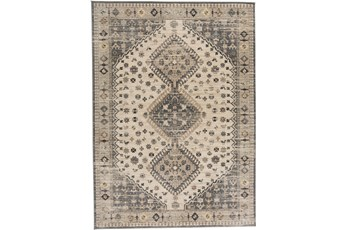 59X92 Rug-Updated Traditional Beige/Grey