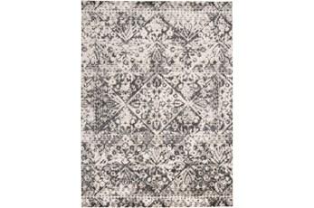 94X132 Rug-Bandu Charcoal/Ivory