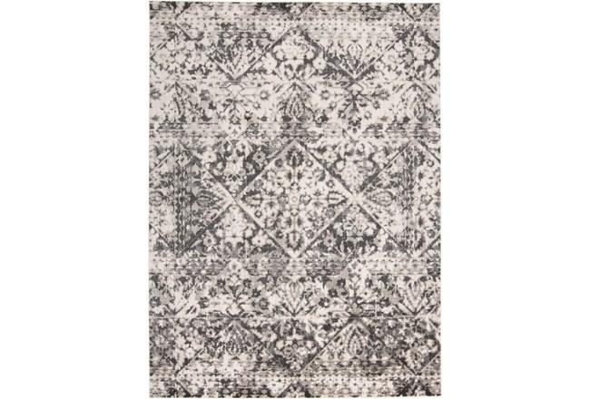 94X132 Rug-Bandu Charcoal/Ivory - 360