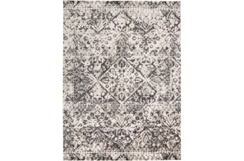 122X165 Rug-Bandu Charcoal/Ivory
