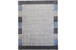 114X162 Rug-Gabbeh Grey/Blue