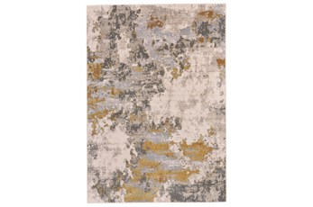 60X96 Rug-Birch Contemporary Gold