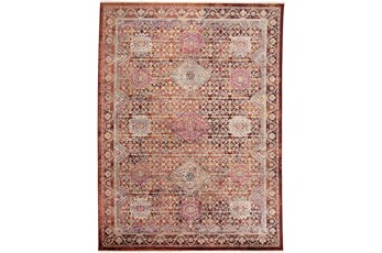 60X83 Rug-Traditional Cora/Rust Multi