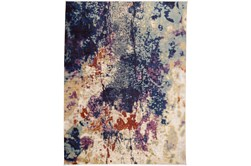 60X83 Rug-Contemporary Cora/Blue Multi