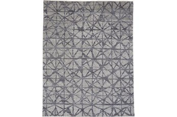 60X96 Rug-Art Deco Hand Knotted  Light Grey