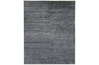 120X168 Rug-Art Deco Hand Knotted Grey