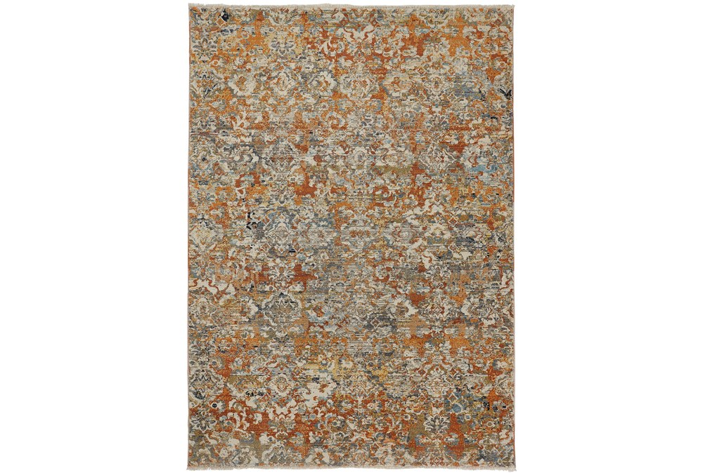 114X150 Rug-Agincourt Orange