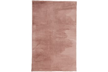 60X84 Rug-Feather Soft Shag Pink