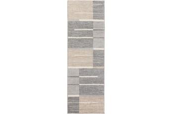 31X96 Rug-Grid Zora Slate