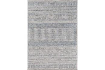 24X35 Rug-Print Lines Zora Blue