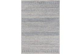 46X67 Rug-Print Lines Zora Blue