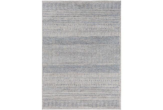 94X122 Rug-Print Lines Zora Blue - 360