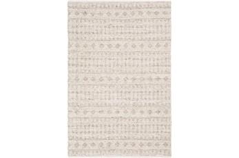 108X156 Rug-Diamond Stripe Flat Weave Natural