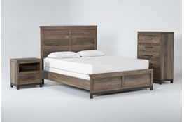 Meadowlark 3 Piece Eastern King Panel Bedroom Set