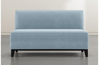 Holden IV Light Blue Settee
