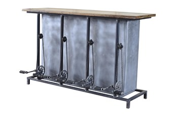 Pedestal Bar Counter