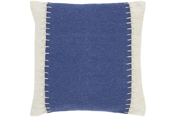 Accent Pillow-Top Stitch Denim 20X20