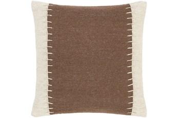Accent Pillow-Top Stitch Cognac 20X20