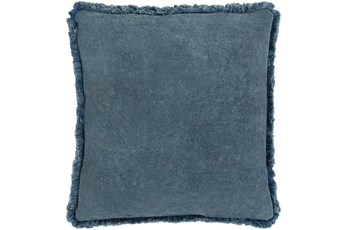 Accent Pillow-Brush Fringe Slate 20X20