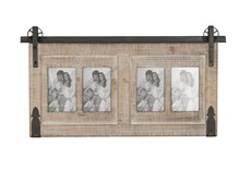 Traditional Wood And Iron Wall Photo Frame