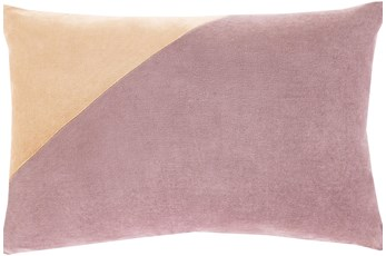 Accent Pillow-Color Block Lilac 13X20