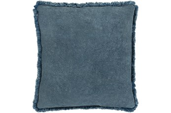 Accent Pillow-Brush Fringe Slate 18X18