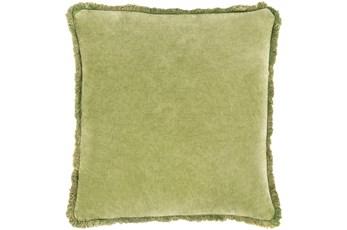 Accent Pillow-Brush Fringe Apple 20X20