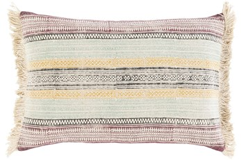 Accent Pillow-Faded Stripes Multi 14X22
