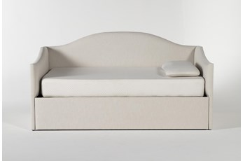 Judith Upholstered Twin Daybed With Trundle