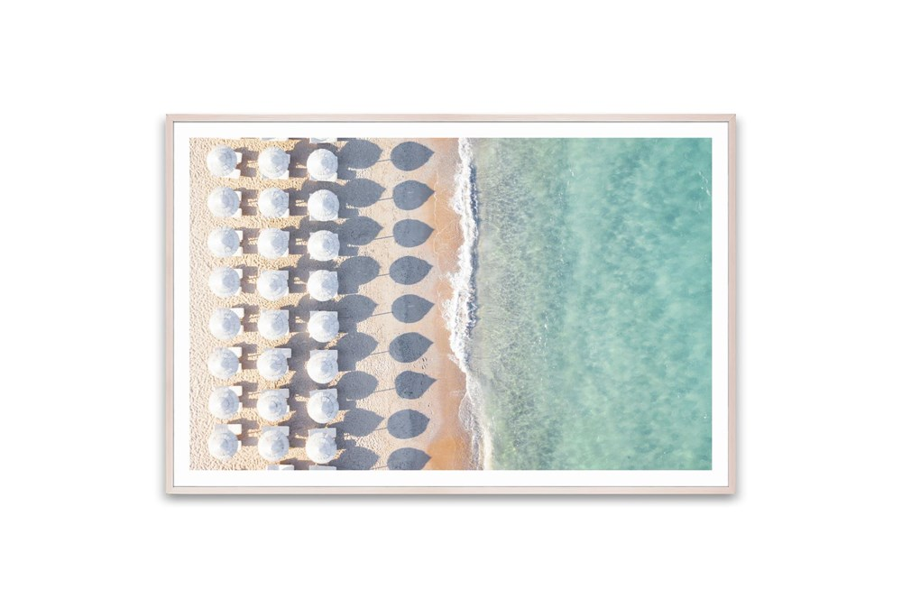 Picture-Aerial Mediterranean Sea 60X40