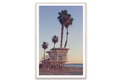 Picture-California Life Guard Stations 40X60