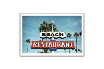Picture-Beach Restaurant 60X40