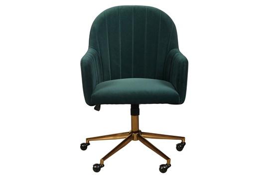 Emerald Channeled Back Desk Chair