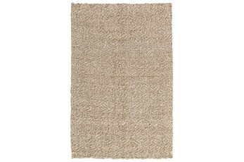 96X120 Rug-Woven Silver/Ivory
