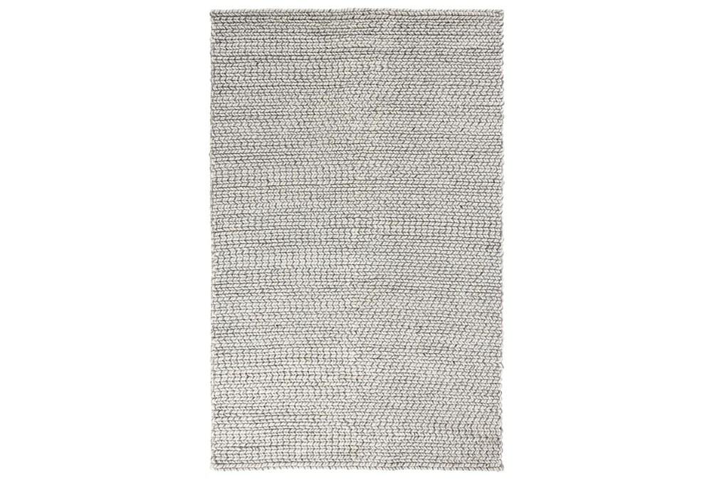 60X96 Rug-Multi Woven Grey