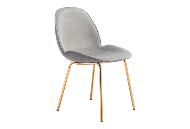Heron Graphite Dining Side Chair Set Of 2 - 360