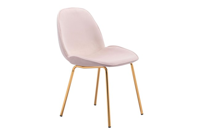 Heron Pink Dining Side Chair Set Of 2 - 360