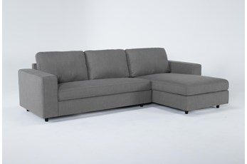 "Gemini 2 Piece 111"" Sectional With Right Arm Facing Chaise"