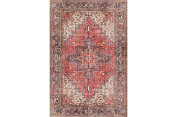 60X91 Rug-Sterling Distressed Cardinal